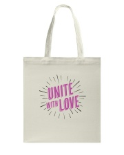 Unite with Love Tote Bag thumbnail