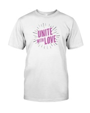 Unite with Love Classic T-Shirt thumbnail