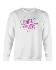 Unite with Love Crewneck Sweatshirt thumbnail