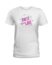 Unite with Love Ladies T-Shirt thumbnail