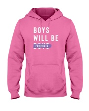 Boys Will be Feminist Hooded Sweatshirt thumbnail