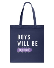 Boys Will be Feminist Tote Bag tile