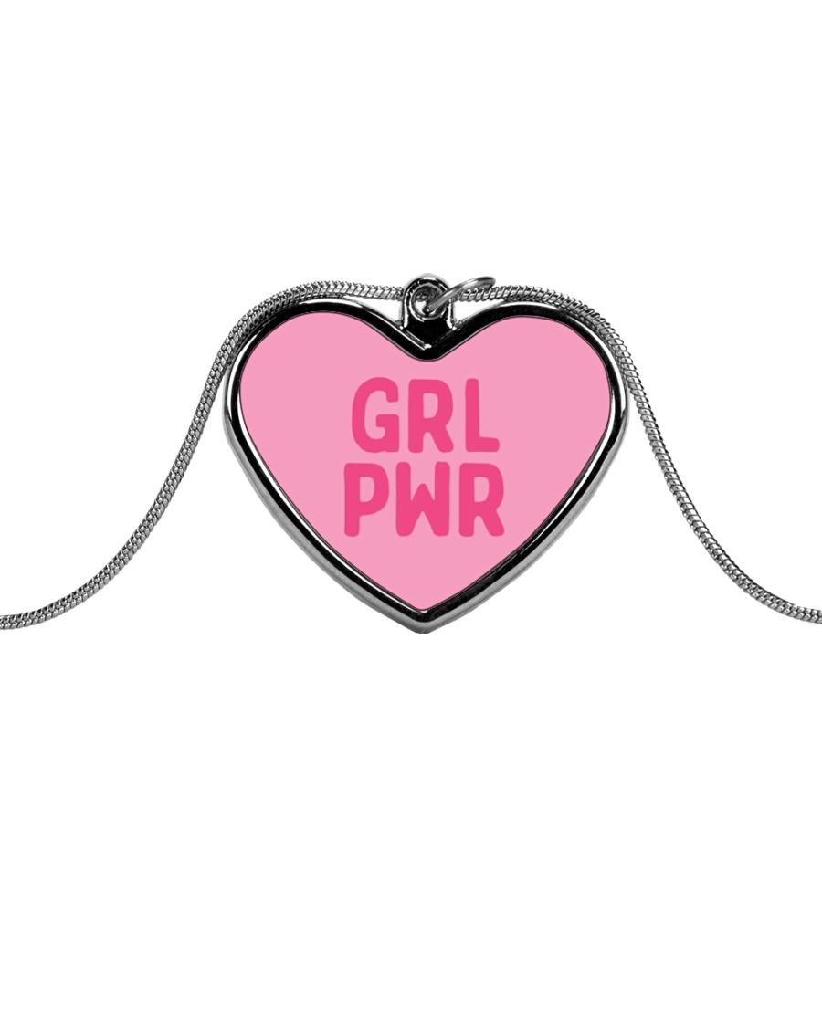 Heartfull Metallic Heart Necklace