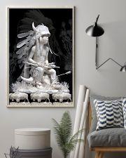 Fantastic Paper Artwork Native American Boy 16x24 Poster lifestyle-poster-1