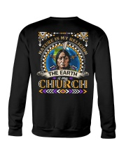 LTD - Nature Is My Religion Back BT02  Crewneck Sweatshirt thumbnail