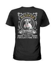 Native American- Thank You - BT04 Ladies T-Shirt thumbnail