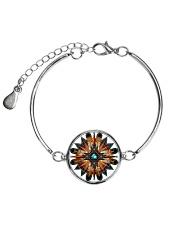 Native American Mandala 08 Metallic Circle Bracelet thumbnail