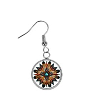 Native American Mandala 08 Circle Earrings thumbnail