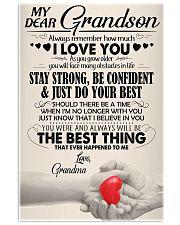 Grandma - Gift For Your Beloved Grandson - BT04  24x36 Poster thumbnail