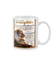 BT06 - Dad- Gift For Your Daughter Blanket- Lion Mug tile