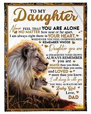 BT06 - Dad- Gift For Your Daughter Blanket- Lion Fleece Blanket tile
