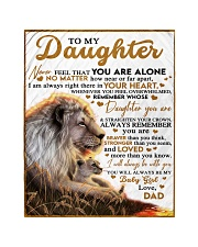 BT06 - Dad- Gift For Your Daughter Blanket- Lion Quilt tile