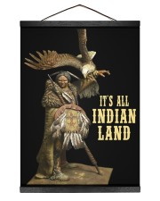 BT07 It's all Indian land Poster 12x16 Black Hanging Canvas thumbnail