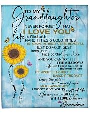 """BTG - Grandma's gift for granddaugher Upsell Fleece Blanket - 50"""" x 60"""" front"""