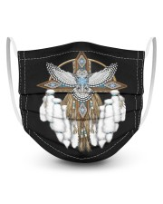 Native Feather Eagle 08 3 Layer Kids Face Mask - Single thumbnail
