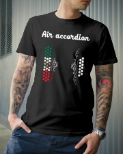 Air Mex Accordion Tee Classic T-Shirt lifestyle-mens-crewneck-front-6
