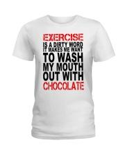 Chocolate lovers dream Ladies T-Shirt thumbnail