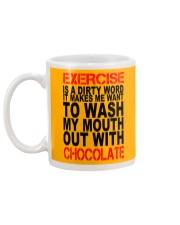 Chocolate lovers dream Mug back