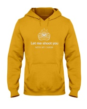Impressive T-Shirt for Photographer Hooded Sweatshirt front