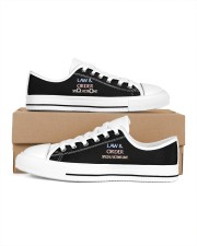 LIMITED EDITION Men's Low Top White Shoes thumbnail