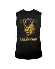 OLD MAN WITH A PARAMOTOR - LIMITED EDITION Sleeveless Tee thumbnail