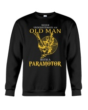 OLD MAN WITH A PARAMOTOR - LIMITED EDITION Crewneck Sweatshirt thumbnail
