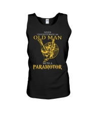 OLD MAN WITH A PARAMOTOR - LIMITED EDITION Unisex Tank thumbnail