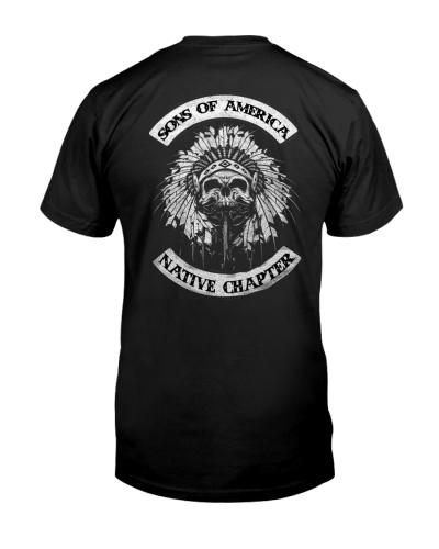 Native Pride Shirts - SOA Backside