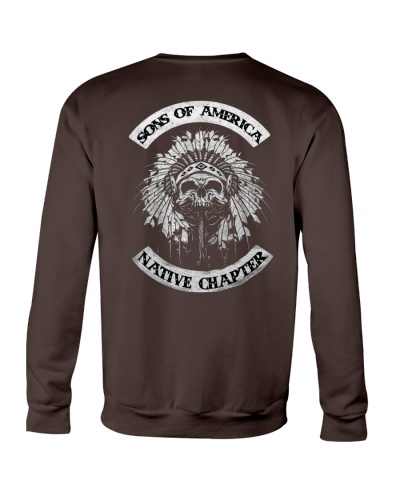 Native Pride Shirts - SOA Backside