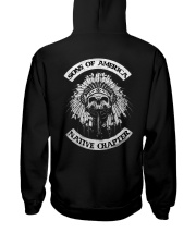 Native Pride Shirts - SOA Backside Hooded Sweatshirt thumbnail