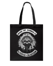 Native Pride Shirts - SOA Backside Tote Bag thumbnail