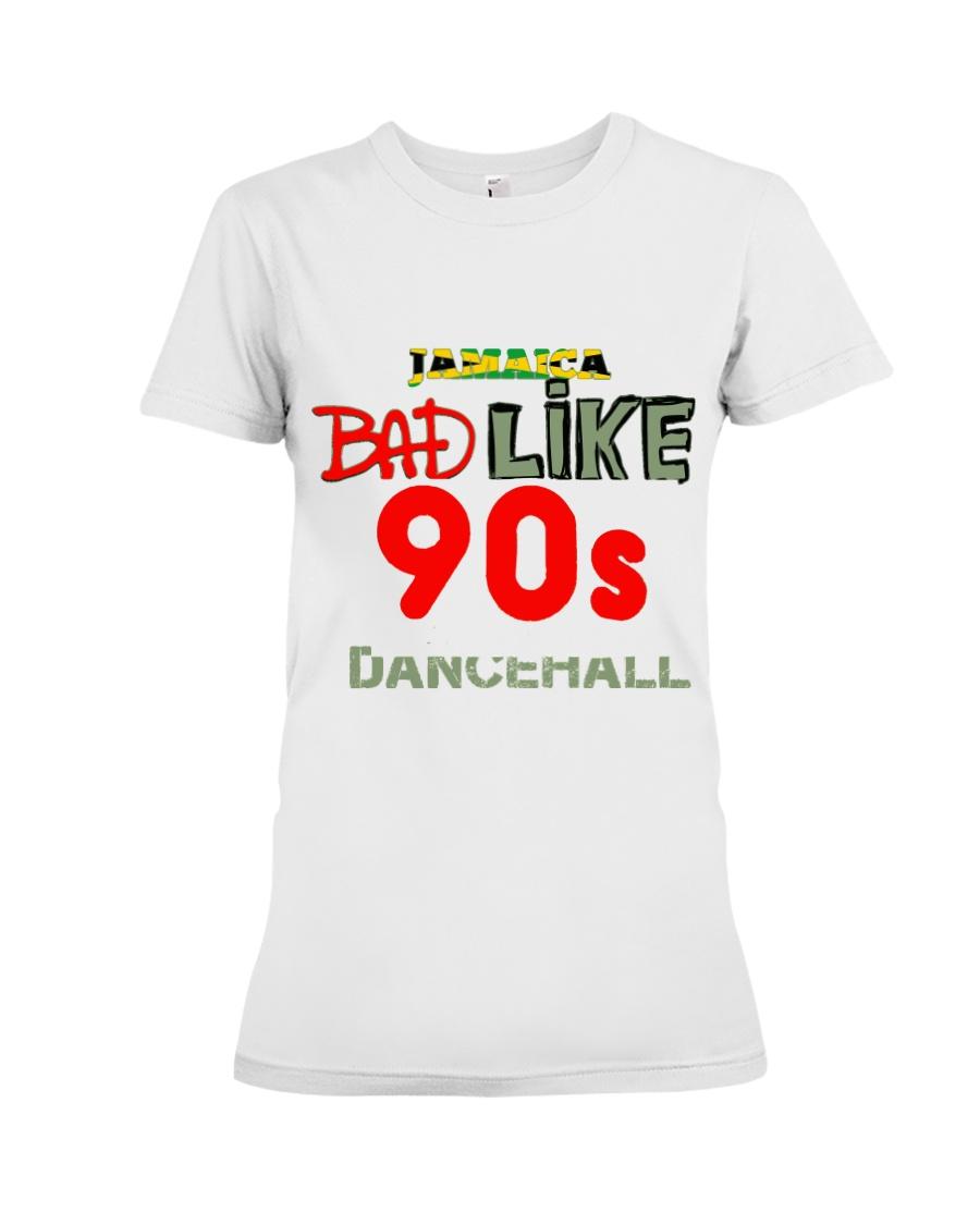 Jamaica 90's dancehall t shirt Premium Fit Ladies Tee