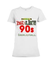 Jamaica 90's dancehall t shirt Premium Fit Ladies Tee thumbnail