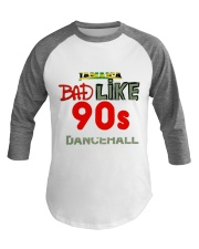 Jamaica 90's dancehall t shirt Baseball Tee thumbnail
