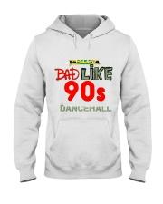 Jamaica 90's dancehall t shirt Hooded Sweatshirt front