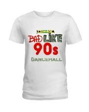 Jamaica 90's dancehall t shirt Ladies T-Shirt thumbnail
