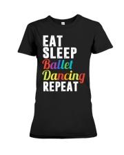 I Love Ballet Premium Fit Ladies Tee thumbnail