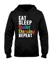 I Love Ballet Hooded Sweatshirt thumbnail
