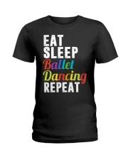 I Love Ballet Ladies T-Shirt front