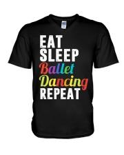 I Love Ballet V-Neck T-Shirt thumbnail