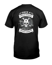 ONCE A AIRCRAFT MECHANIC Classic T-Shirt back