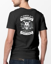 ONCE A AIRCRAFT MECHANIC Classic T-Shirt lifestyle-mens-crewneck-back-5