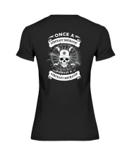 ONCE A AIRCRAFT MECHANIC Premium Fit Ladies Tee thumbnail