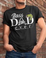 BASS DAD EVER Classic T-Shirt apparel-classic-tshirt-lifestyle-26