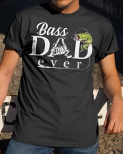 BASS DAD EVER Classic T-Shirt apparel-classic-tshirt-lifestyle-28