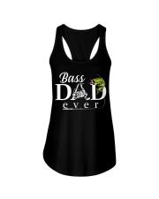 BASS DAD EVER Ladies Flowy Tank thumbnail