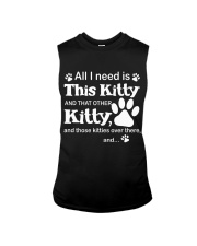 ALL I NEED IS THIS KITTY Sleeveless Tee tile