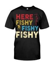 HERE FISHY FISHY FISHY Premium Fit Mens Tee thumbnail