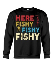 HERE FISHY FISHY FISHY Crewneck Sweatshirt thumbnail