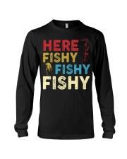 HERE FISHY FISHY FISHY Long Sleeve Tee thumbnail